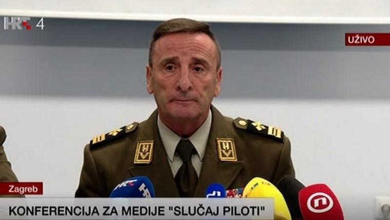 Gen.Mirko Šundov (Photo: HRT)