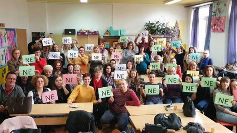 Referendum sindical (Foto: HRT)