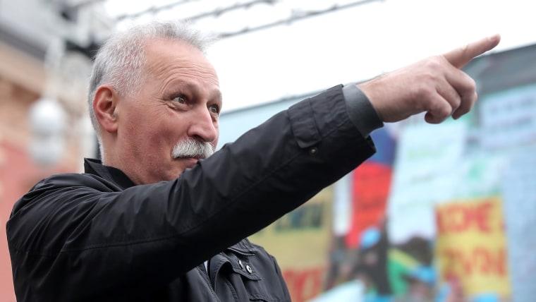 Gewerkschaftsführer Branimir Mihalinec (Foto: Goran Stanzl/PIXSELL)