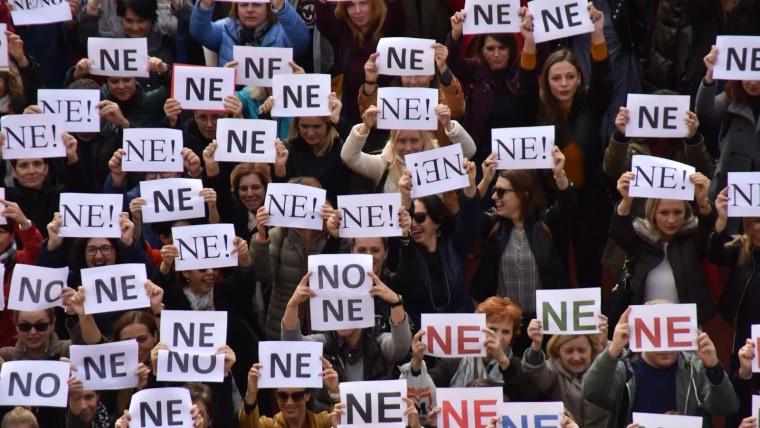 No al acuerdo (Foto: Dusko Marusic/PIXSELL)