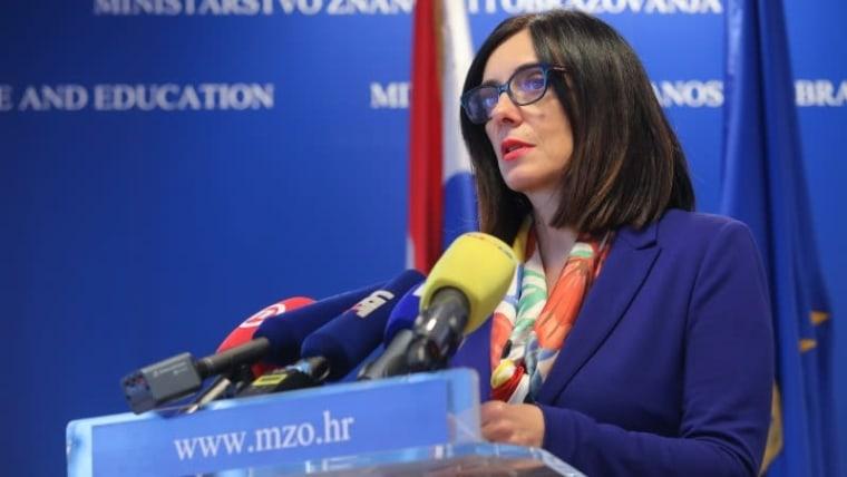 Minister of Science and Education Blaženka Divjak (Photo: Tomislav Miletic/PIXSELL)