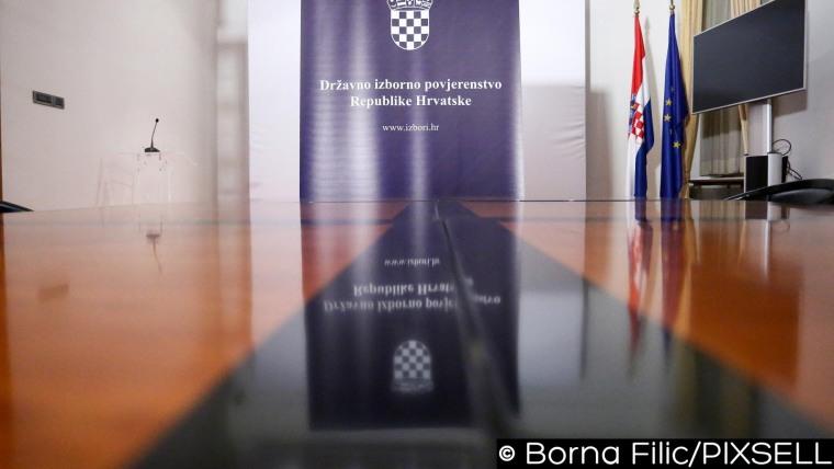 Die staatliche Wahlkommission (Foto: Borna Filic/PIXSELL)
