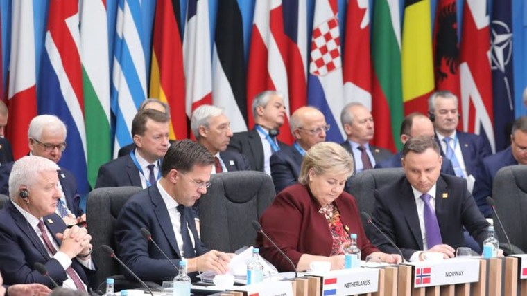 NATO leaders attend Alliance's 70th anniversary summit in London (Photo: Yves Hermann/Reuters)