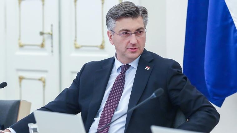 Prime Minister Andrej Plenković (Photo: Luka Stanzl/PIXSELL)