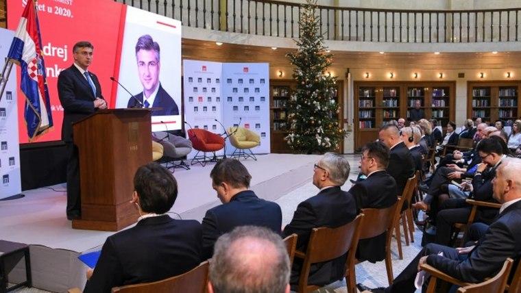 Andrej Plenkovic The Economist (Foto:  Josip Regovic / PIXSELL)