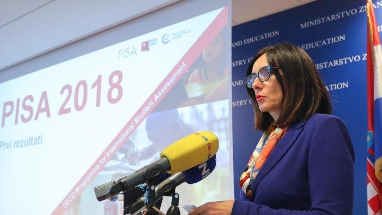 ministra de Educación, Blaženka Divjak (Foto: Tomislav Miletic/PIXSELL)