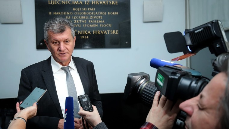 ministro de Salud, Milan Kujundžić (Foto: Goran Stanzl/PIXSELL)