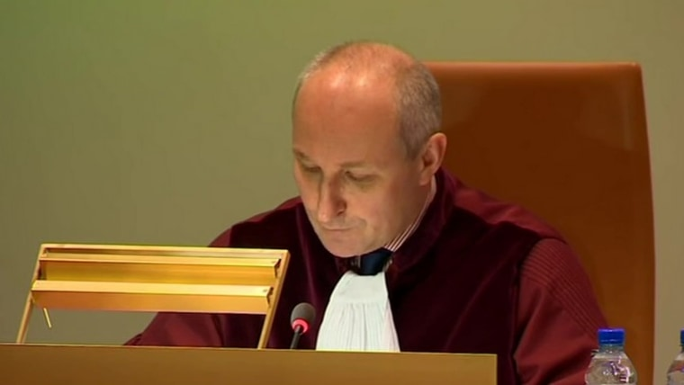 First Advocate General at the Court of Justice of the European Union Maciej Szpunar (Screenshot: HRT)