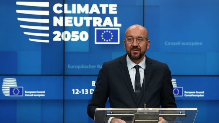 European Council President Charles Michel in Brussels (Photo: Zheng Huansong/XinHua/PIXSELL)