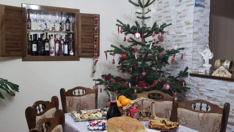 Blagdanski stol u Karaševu. (Foto: Slobodanka Ljubica Bajka)