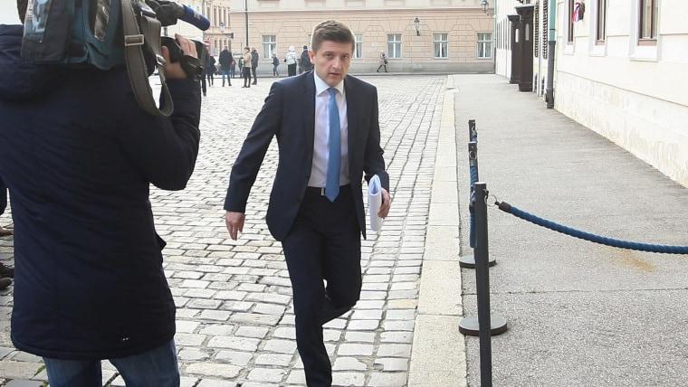Deputy Prime Minister and Finance Minister Zdravko Marić (Photo: Matija Habljak/PIXSELL)