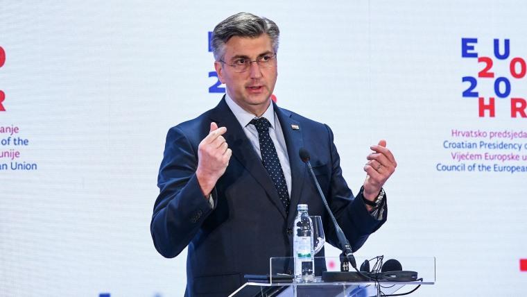 Prime Minister Andrej Plenković (Photo: Josip Regovic/PIXSELL)