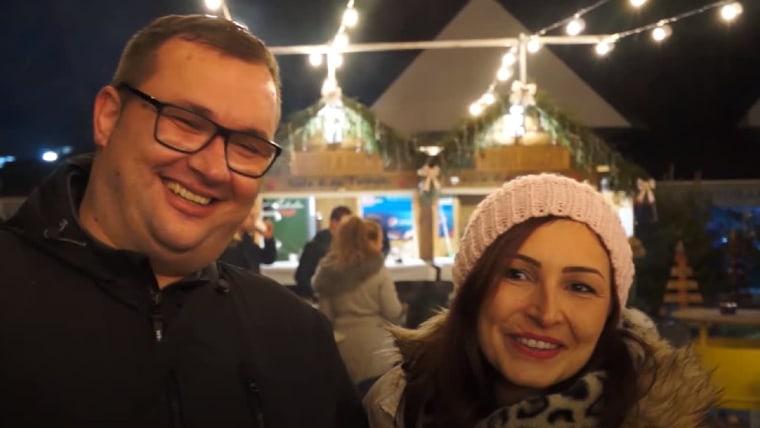 Kristian i Marijana (Foto: screenshot/YouTube/DW)