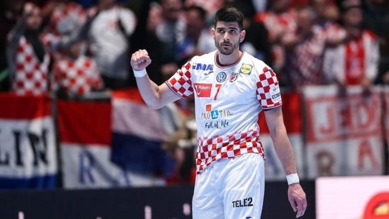Kroatischer Handballnationalspieler (Foto: Luka Stanzl/PIXSELL)