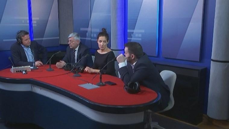 Debate sobre las elecciones parlamentarias en Polígrafo de HR (Foto: HRT)