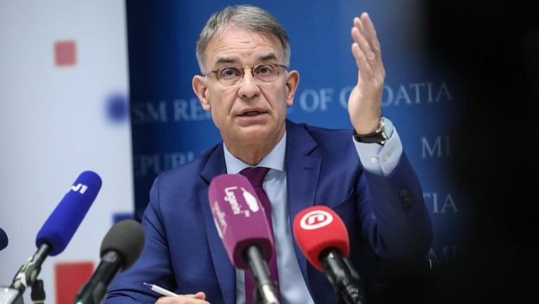 Tourism Minister Gari Cappelli (Photo: Robert Anic/PIXSELL)