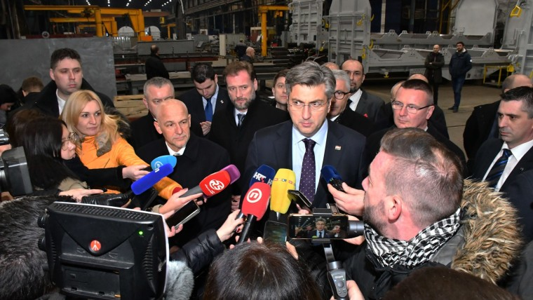 Government visits Đuro Đaković in Slavonski Brod