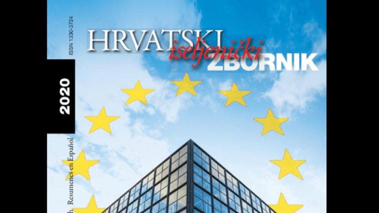 Hrvatski iseljenički zbornik 2020. (Foto: Hrvatska matica iseljenika/ screenshot)