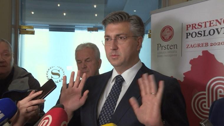 Prime Minister Andrej Plenković (Photo: HRT)
