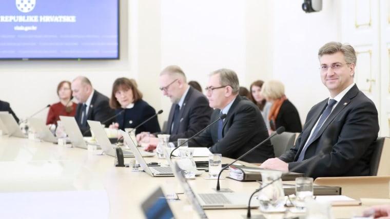 Sesión del Gobierno (Foto: Sanjin Strukic/PIXSELL)