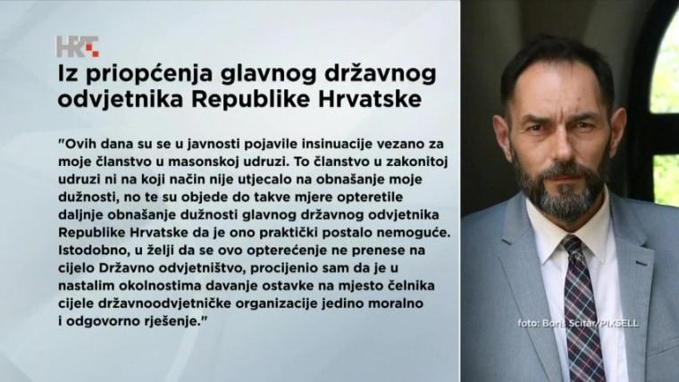 Aus der Pressemitteilung des Generalstaatsanwalts Dražen Jelenić (Foto: HRT)