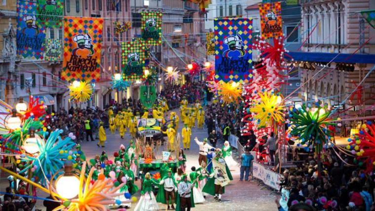 Karnevalsumzug in Rijeka (Screenshot Rijeka2020.eu)