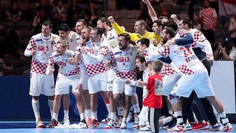 Selección Nacional Croata de Balonmano (Foto: Luka Stanzl/PIXSELL))