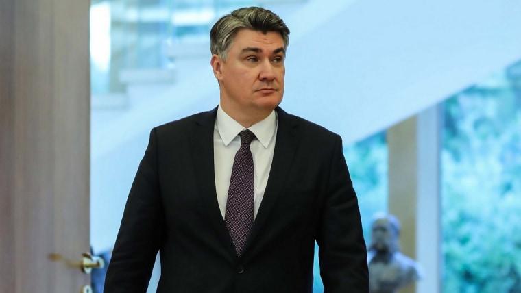Der kroatische Präsident Zoran Milanović (Foto: Jurica Galoic / PIXSELL)