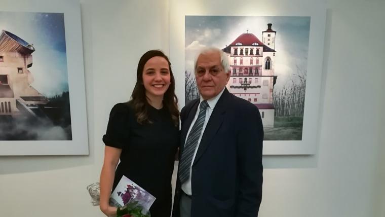 Camila Mancilla Vera i David Rey u Starogradskoj vijećnici u Zagrebu (Foto: Glas Hrvatske)
