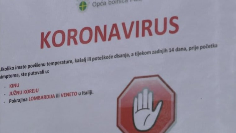 Croatia is requiring a 14 day quarantine for all foreign nationals coming from affected areas (Photo: HRT)