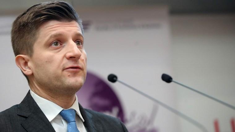 Finance Minister Zdravko Marić (Photo: Goran Stanzl/PIXSELL)