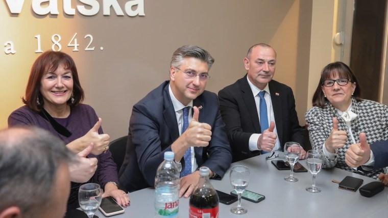 HDZ leader Andrej Plenković (Photo: Davor Visnjic/PIXSELL)