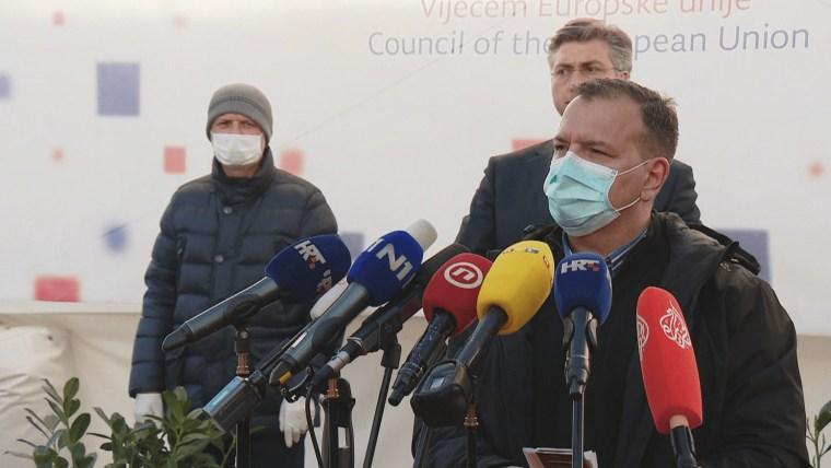 Minister of Health Vili Beroš (Photo: HRT)
