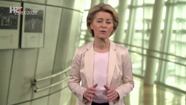 European Commission President Ursula von der Leyen (Screenshot: HRT)