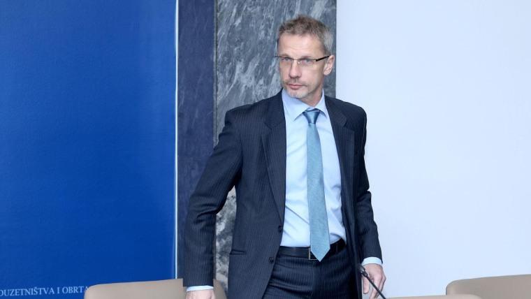 Der Gouverneur der kroatischen Nationalbank Boris Vujičić (Foto: Patrik Macek/PIXSELL