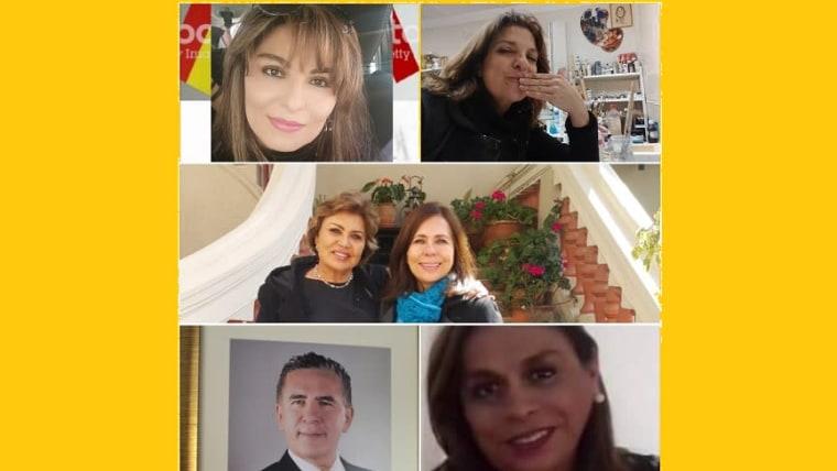 Veronica Moron, Katherine Hrdalo, Sonia i Karen Longarić,Franjo Kurtović i Lluvitza Lopez Golac (Foto: archivo privado)