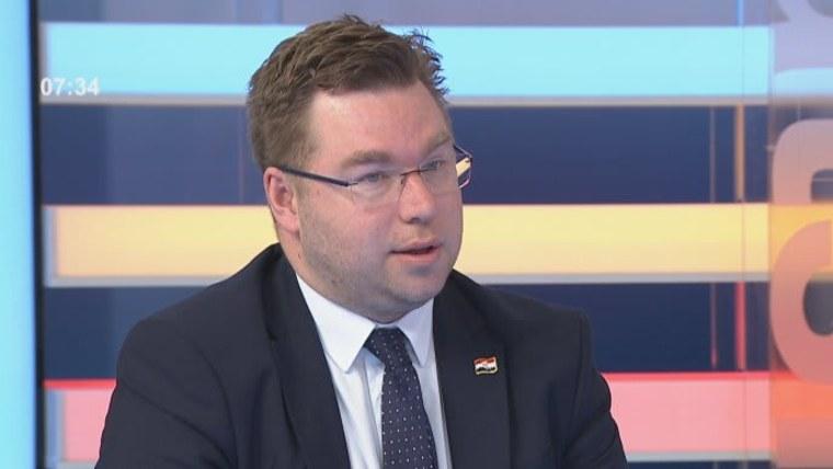 Minister für regionale Entwicklung und EU-Mittel Marko Pavić (Foto: HRT)