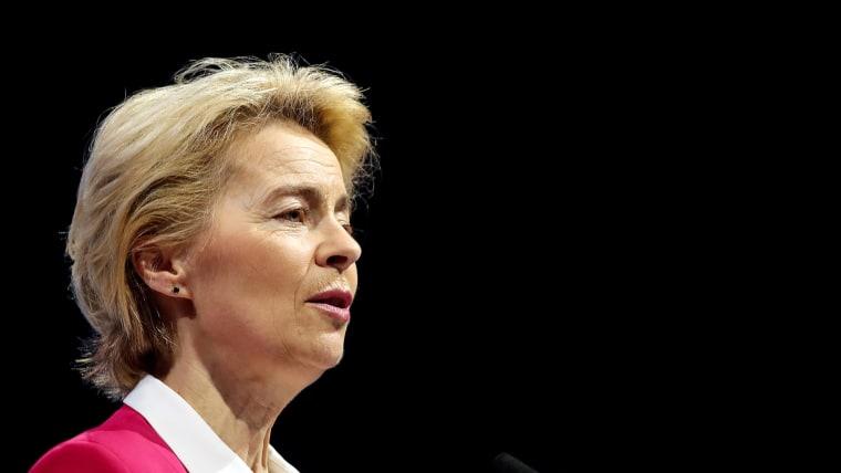 Die Präsidentin der Europäischen Kommission Ursula von der Leyen (Foto: Goran Stanzl/PIXSELL)