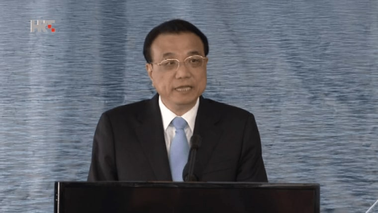 Li Keqiang, Chinas Premierminister, Illustration, (Foto: HRT)