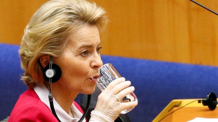 Die Präsidentin der Europäischen Kommission Ursula von der Leyen (Foto: Francois Lenoir/REUTERS)