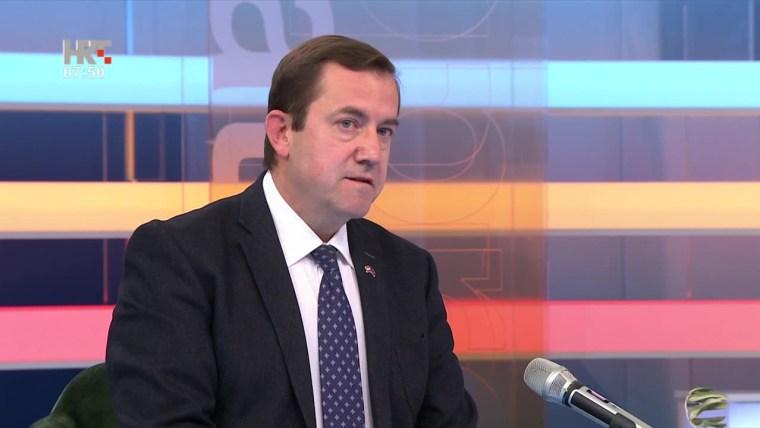 Der Leiter der Vertretung der EU Kommission in Kroatien Ognian Zlatev (Foto: HRT)