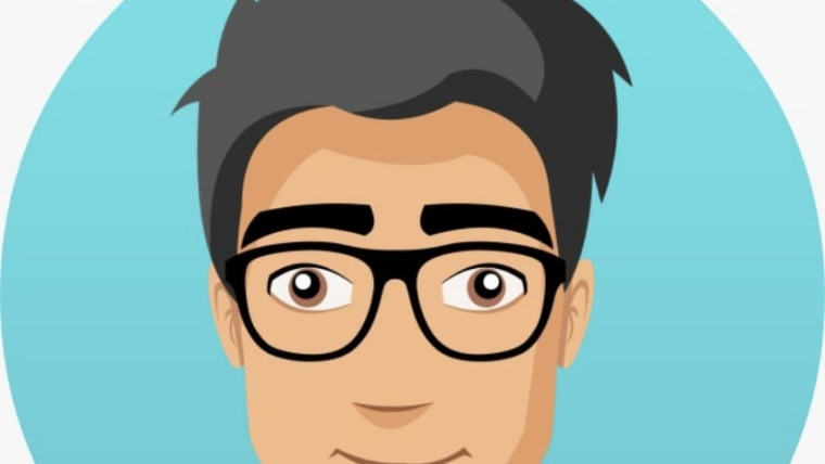 "Das Gesicht des neuen digitalen Assistenten ""Andrija"" (Foto: Screenshot/koronavirus.hr)"
