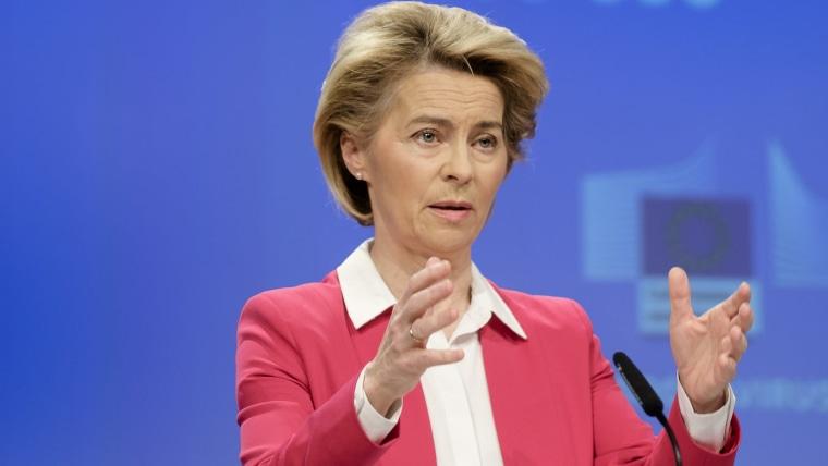European Commission President Ursula von der Leyen (Photo: Thierry Monasse/DPA/PIXSELL)