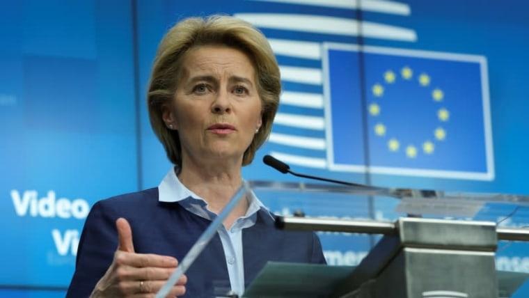 The President of the European Commission Ursula von der Leyen (Photo: Olivier Hoslet/Pool via REUTERS)