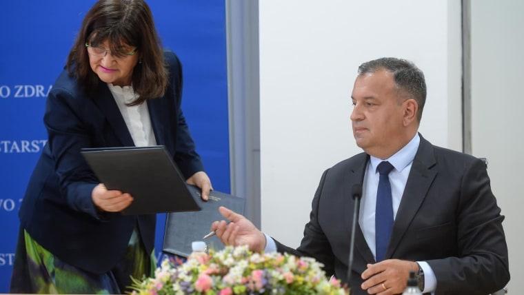 Ministro de Salud, Vili Beroš (Foto: Marko Prpic/PIXSELL)