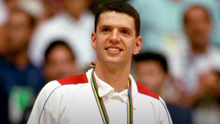 Dražen Petrović at the Olympic games in Barcelona in 1992 (Photo: HRT)
