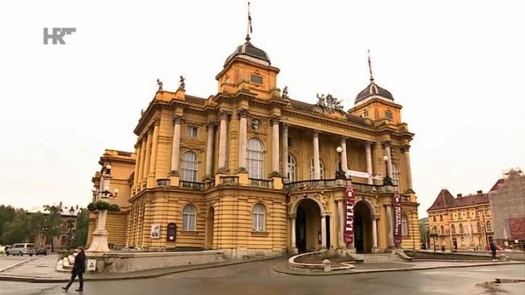 Das kroatische Nationaltheater in Zagreb (Foto: HRT)