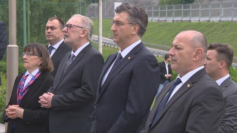 Premier Plenković en Macelj (Foto: HRT)