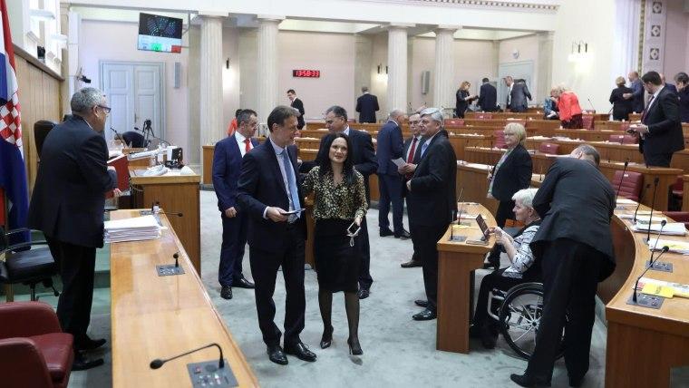 Parlamento Croata (Foto: Patrik Macek/PIXSELL