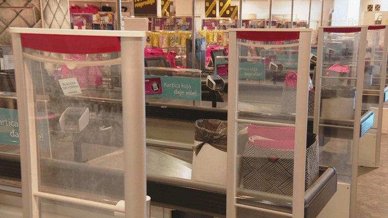 Shops are closed on Sundays under temporary coronavirus regulations (Photo: HRT)